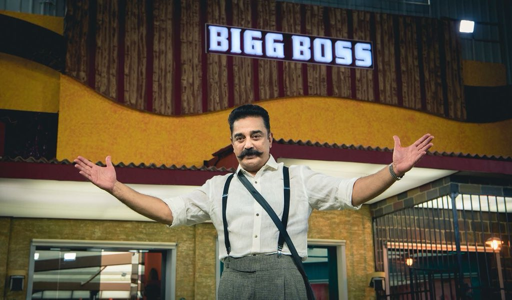 test Twitter Media - @ikamalhaasan Announces in #BigBoss2 show the launch of the first single of #Vishwaroopam2 next weekend during #BigBoss2Tamil @GhibranOfficial #Vishwaroopam2FirstSingle https://t.co/FpCcDB1iYd