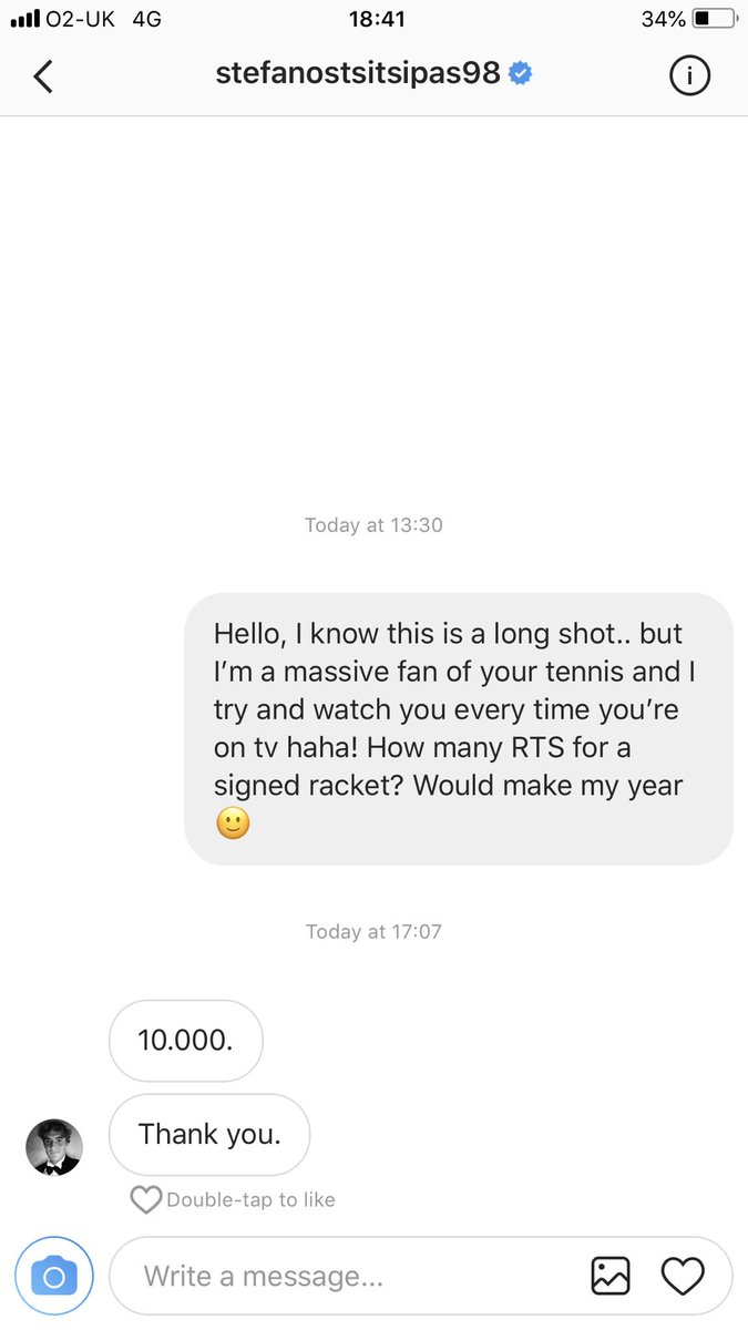 GUYS PLEASE HELP ME!! TSITSIPAS IS MY TENNIS IDOL AND THIS WOULD BE A DREAM COME TRUE! PLEASE RT