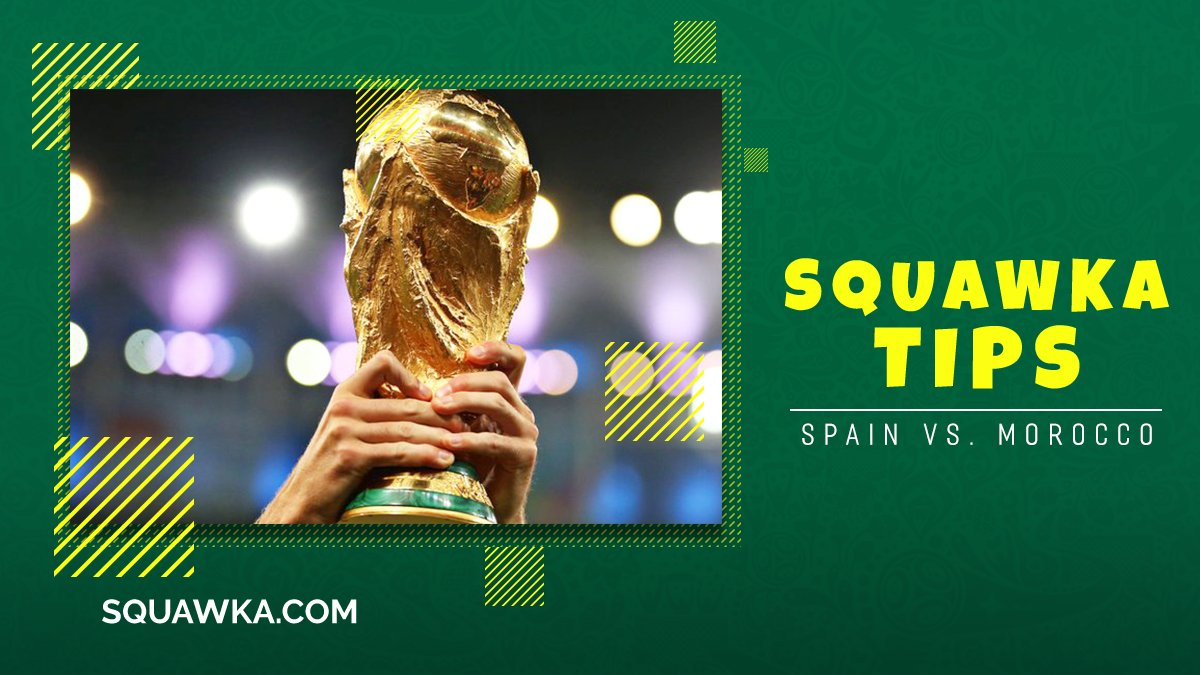 Tip 1 = First goalscorer Tip 2 = ❄ Tip 3 = ⛔  Squawka's top three tips are here as Morocco look for their first 2018 World Cup win against Spain - https://t.co/NQdc7RoG7A  18+ only, Ts & Cs apply #Ad