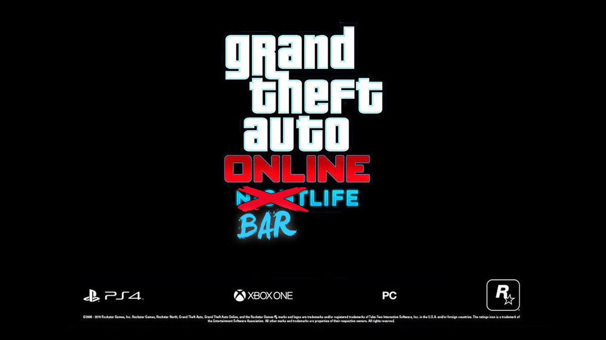 DLC Trailer: We all about the 'Bar Life'! Excited for @RockstarGames summer DLC release! #GTAOnline #DLC #NightLife  https:// youtu.be/pZSpLrGBQUc  &nbsp;  <br>http://pic.twitter.com/13xbpYpEgW