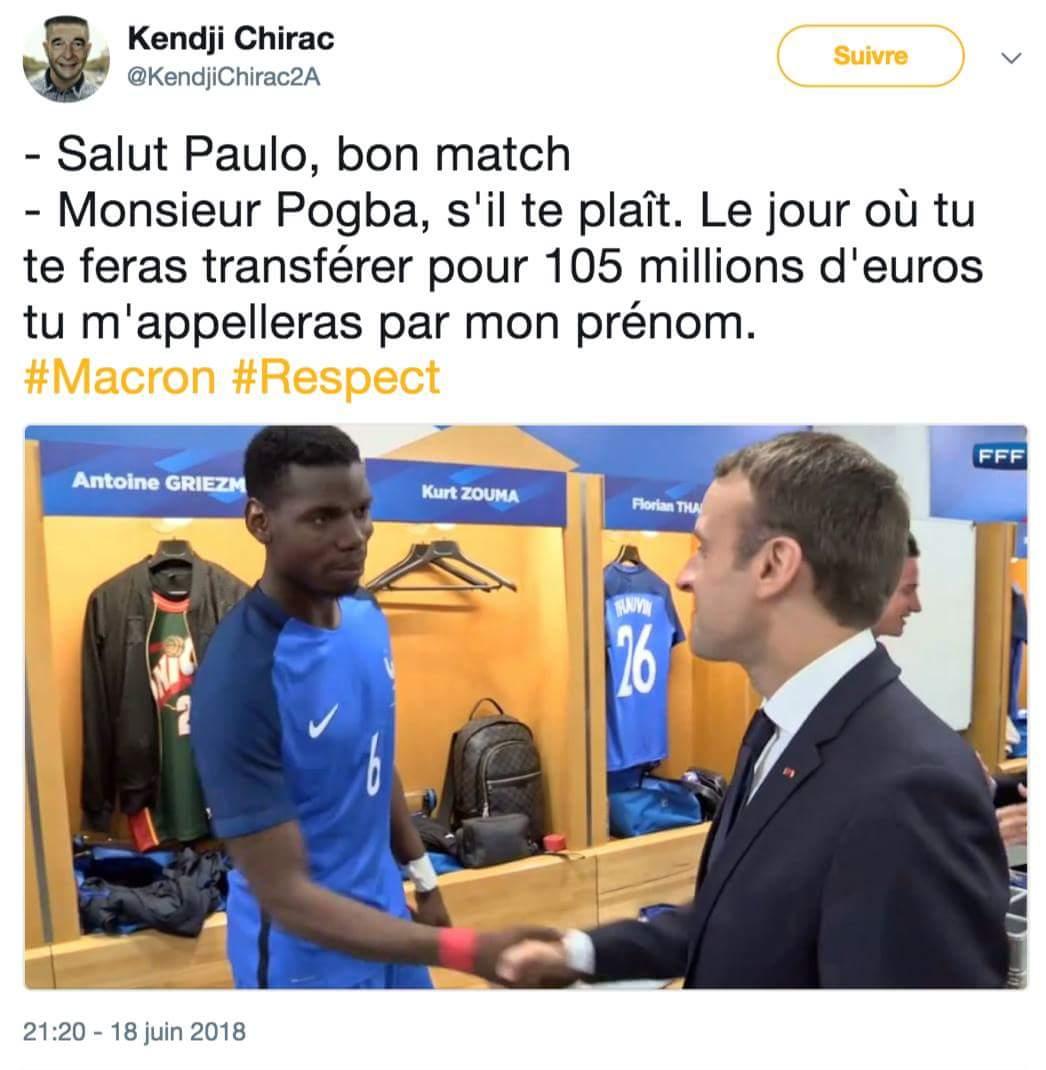 @EmmanuelMacron Bonne soirée monsieur le président. https://t.co/wdM8cElvTU