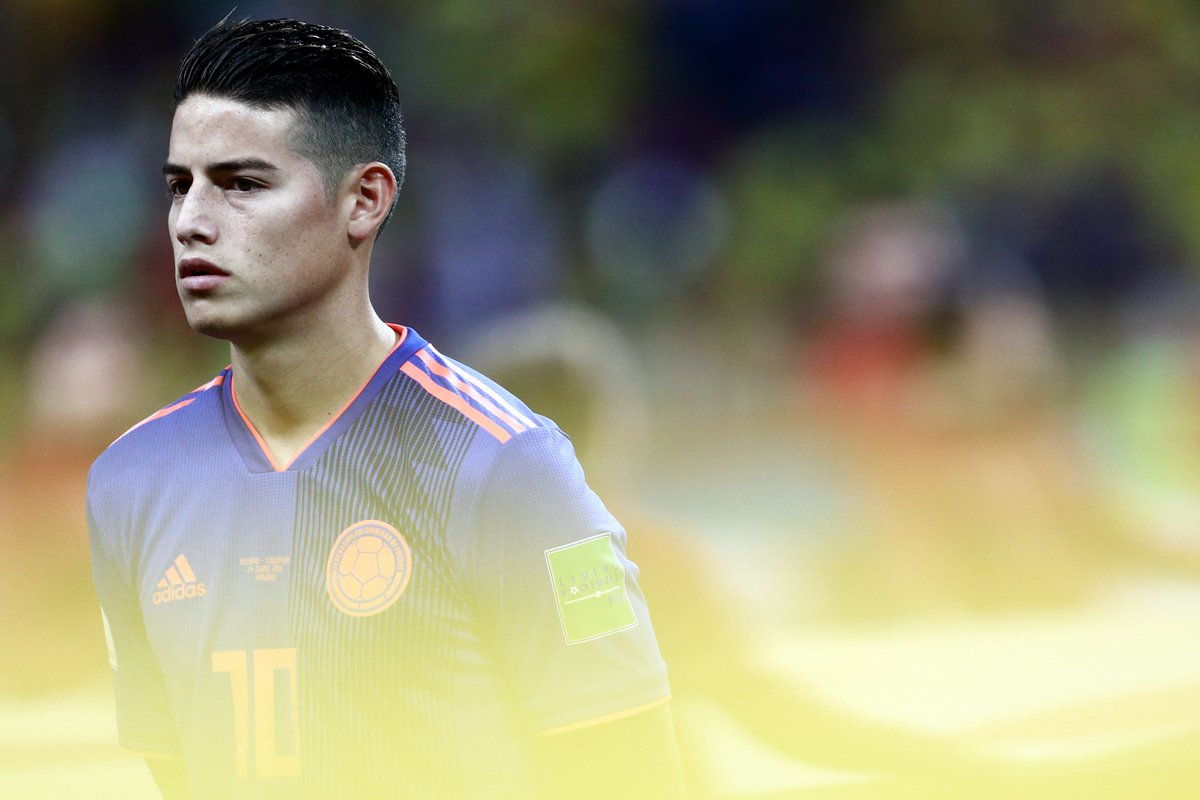 The star of #WorldCup 2014 starts from the off for Colombia 🇨🇴