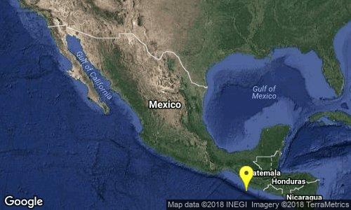 test Twitter Media - Preliminar: SISMO Magnitud 4.2 Loc  109 km al SUR de CD HIDALGO, CHIS 24/06/18 13:02:50 Lat 13.70 Lon -92.29 Pf 45 km https://t.co/JmR3uCGRwK