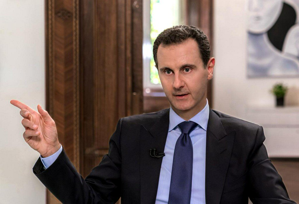 Assad pledges to regain control of northern Syria by force if needed https://t.co/KAzoW4rqCv https://t.co/m7Mk3hVQ8m