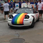 Image for the Tweet beginning: Celebrating Pride! #LoveWins