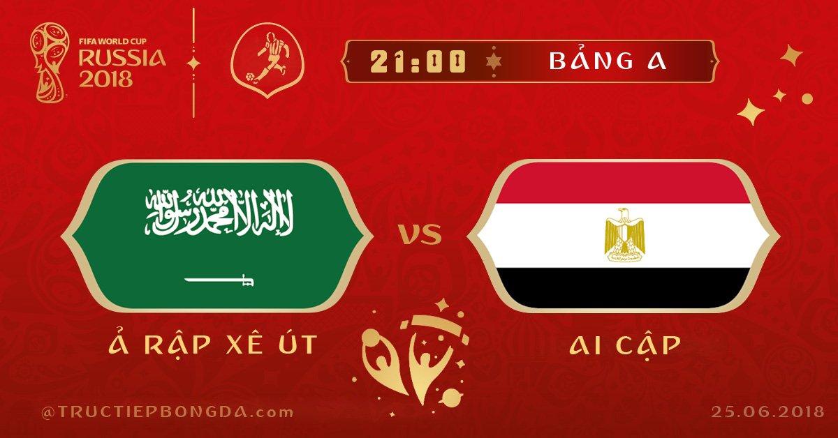 Ảrập Xêút vs Ai Cập
