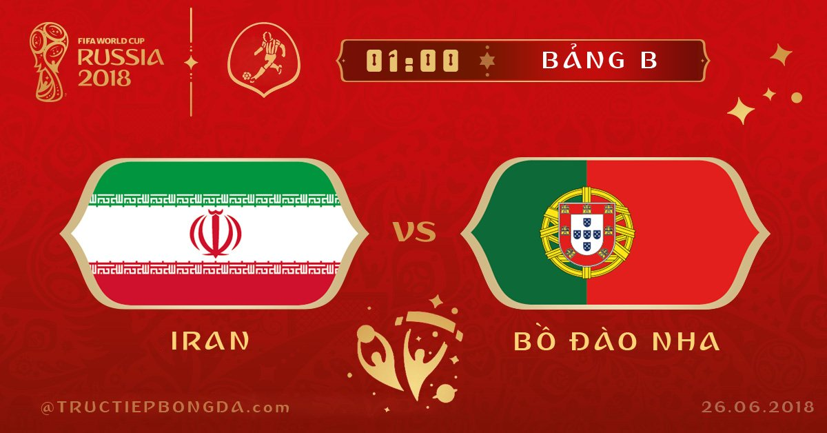 Iran vs Bồ Đào Nha