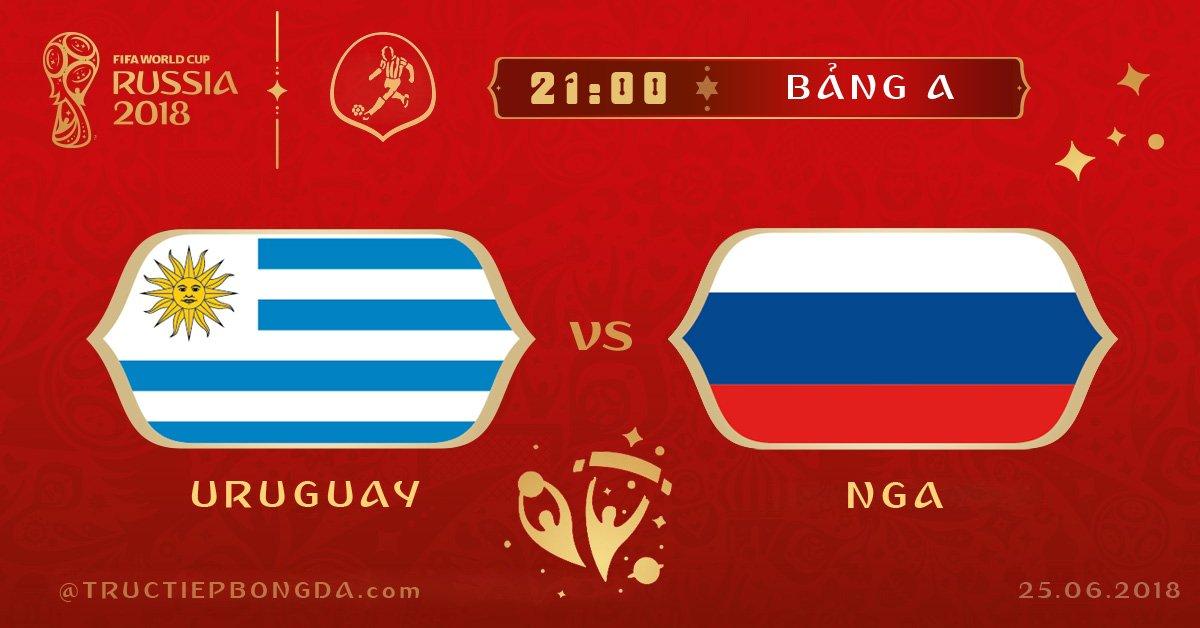 Uruguay vs Nga