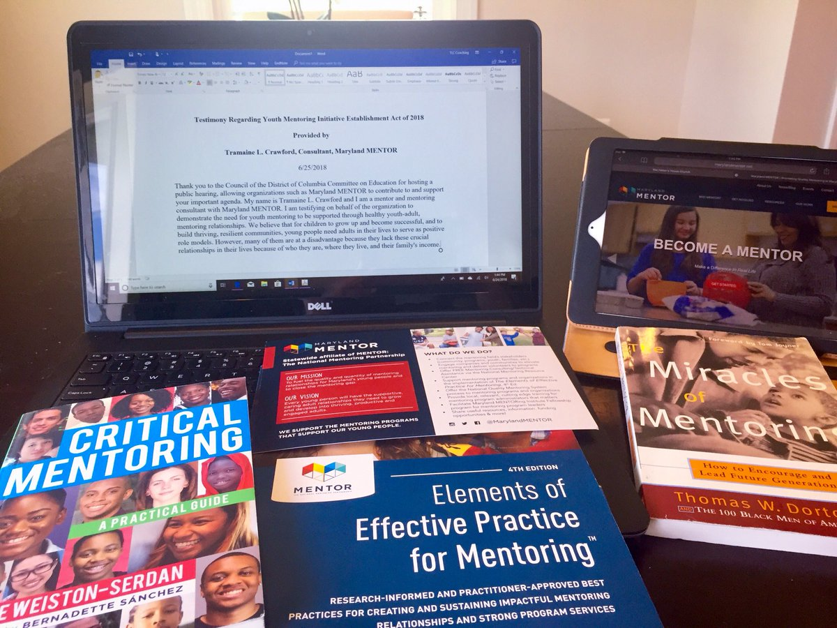 Preparing my testimony. DC Committee on Education Public Hearing...regarding the Youth Mentoring Initiative Establishment Act of 2018.   Join us Monday, June 25th at 11 AM at the Wilson Building. @marylandMENTOR #mentoring #mentor #MentorIRL<br>http://pic.twitter.com/IDDs2ySBY3