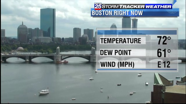 A live look at #Boston right now... #Boston25