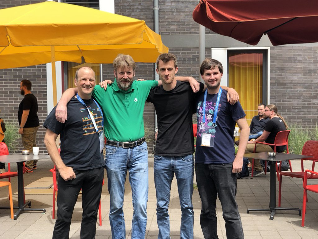RT @in2code_stefan: Our @in2code_de team at #T3DD18 - was a great time https://t.co/clxGjw65X2