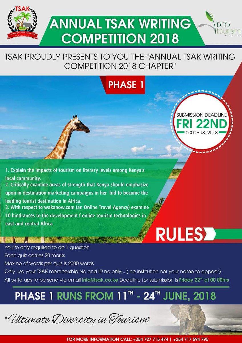 Tourism students association of kenya tsak254 twitter 0 replies 3 retweets 8 likes malvernweather Images