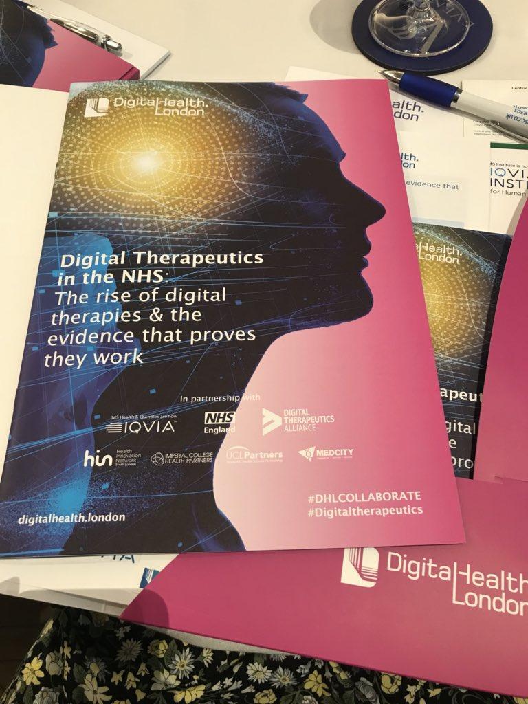 Digital Therapeutics #DTx