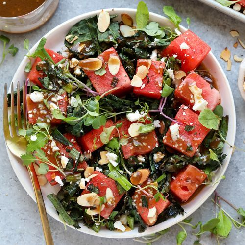 Lunch:Grilled Kale and Watermelon Salad {video}> Do you need a ne - https://t.co/rkNwgTZEaf #recipe https://t.co/2ONo5PCNgy
