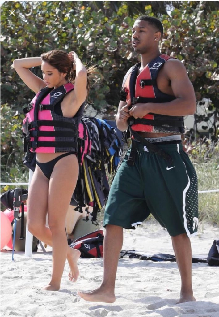 Catherine paiz and michael b jordan