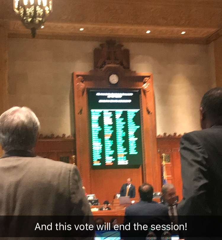 And this vote makes it official!  Higher education is protected, TOPS is fully funded and our needs based program (GO Grants) received an enhancement.  This is a great day for Louisiana!  #lagov #lalege @LA_Regents<br>http://pic.twitter.com/JHxTD0firZ