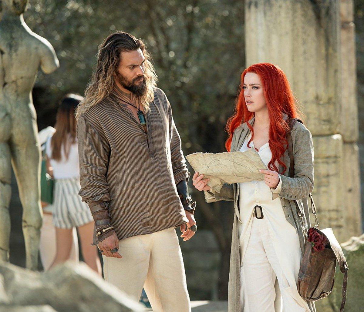 "New Jason Momoa And Amber Heard Aquaman Image: Showcase Cinemas US On Twitter: ""Here's A Glimpse Of"