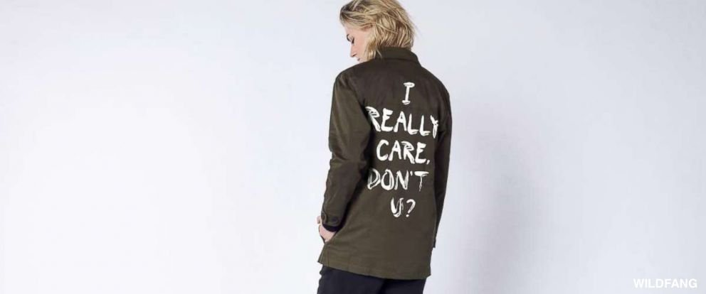 Clothing company aims to raise $100,000 with 'I Really Do Care' line in response to the jacket Melania Trump wore while en route to visit migrant children in Texas. https://t.co/eEAC2dnucS