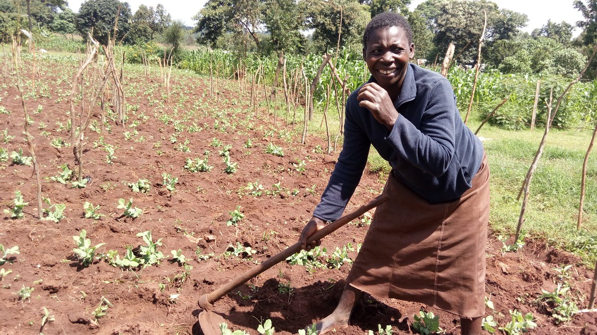 Just because #endingpoverty and #Zerohunger is our priority, rural women are at the fore front to make this areality @AdamRogers2030 @kilimototo @TBNetworkKE @jacobzik<br>http://pic.twitter.com/pMd42hxFIZ