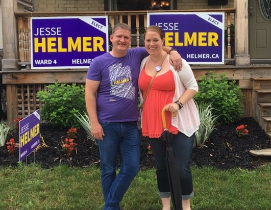 Great campaign launch @jesse_helmer ! #Ward4 is so fortunate to have you working hard for them. #Ldnont<br>http://pic.twitter.com/ovMHfxqJ7U