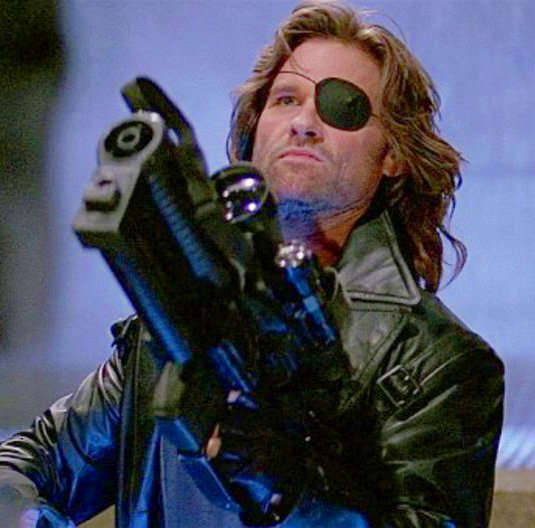 &#39;Escape From L.A.&#39; (1996) Snake Plissken (Kurt Russell) is once again called in by the United States government to recover a doomsday device from Los Angeles, now an autonomous island where undesirables are deported. Dir. by John Carpenter With Steve Buscemi, Stacy Keach &amp; others <br>http://pic.twitter.com/dBP6halXqh