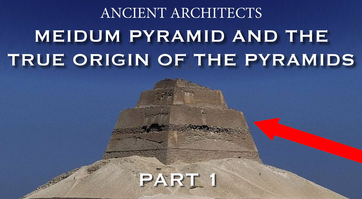 The Pyramid of Meidum &amp; the True Origins of the Pyramids. Watch now and please subscribe:  https:// youtu.be/wcX8la--XT0  &nbsp;  <br>http://pic.twitter.com/MZgGEgfZbM