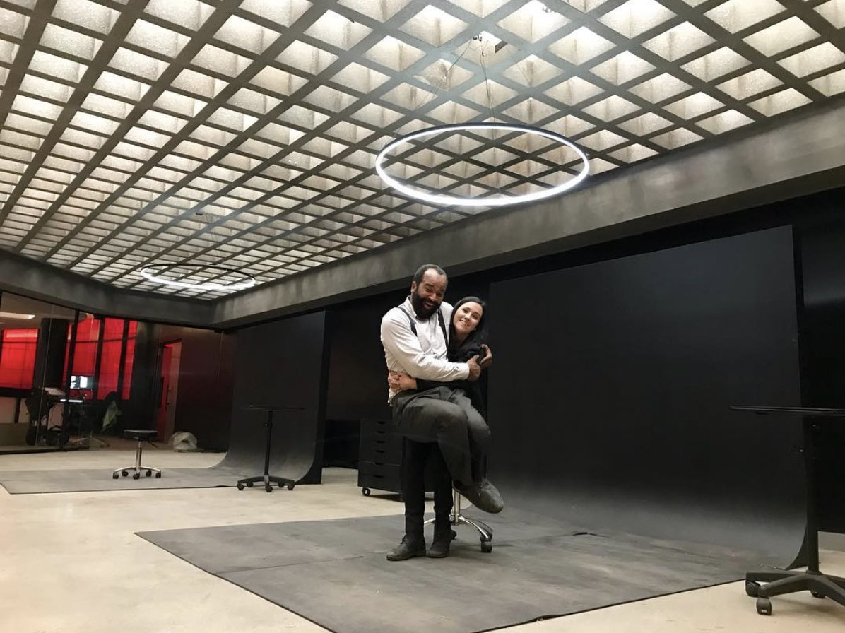 Is this now? &quot;We are really THIS excited for you to watch the finale tonight.&quot; (via @shannonwoodward on @instagram):  https:// itsh.bo/2Khd6oC  &nbsp;   #Westworld  @jfreewright<br>http://pic.twitter.com/9hwONeaH5m
