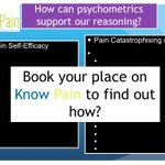 Image for the Tweet beginning: Know Pain explores clinical reasoning: