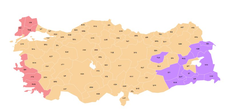 Check the latest results in #TurkeyElection2018  http://www. hurriyetdailynews.com/turkey-electio ns-2018/  … <br>http://pic.twitter.com/AoYJuJH7Qr