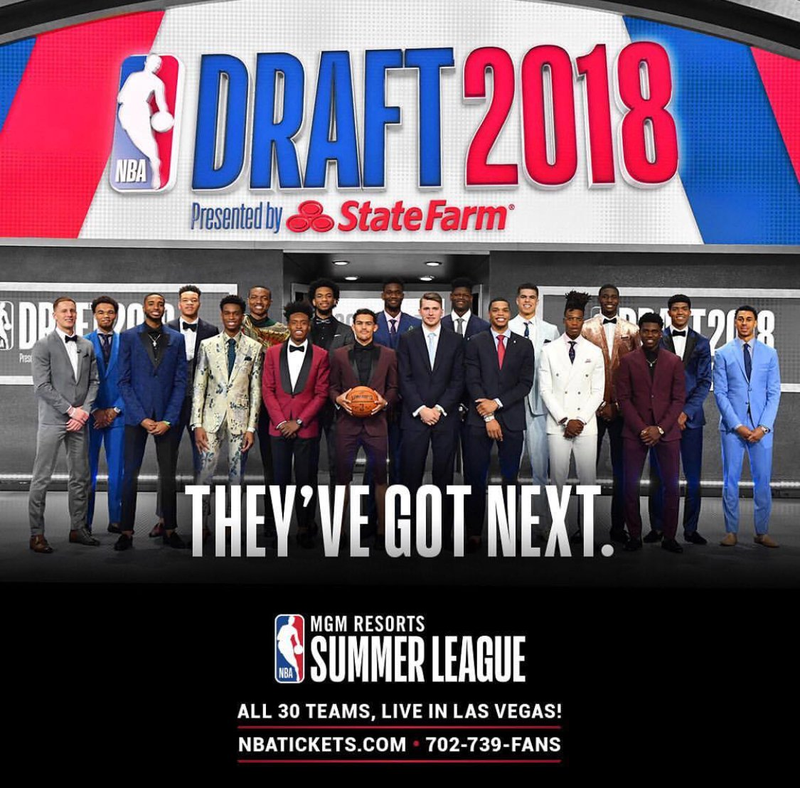 They've got next.. so see them first.. at the @NBASummerLeague in Las Vegas! https://t.co/FZAFEdI0LN #NBASummer https://t.co/jRt5cXh5qH