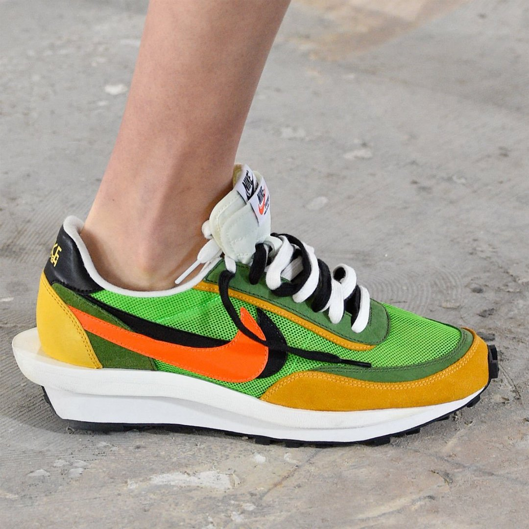 reputable site 02503 78b5b The Dunk High x Blazer and Waffle Daybreak x LDV collaborations release in  sacai s Spring Summer 2019 collection.pic.twitter.com k9yN2yflrb