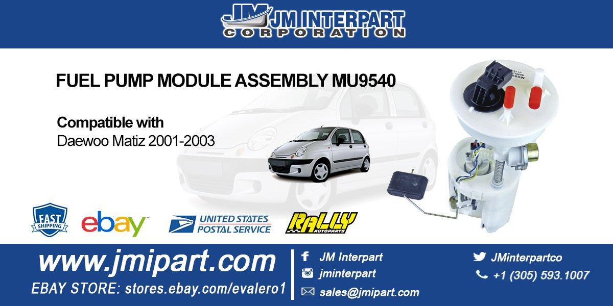 145 new fuel pump module assembly mu9540 daewoo matiz 2001-2003 more info:  jminterpart ph: (305) 593-1007 email: sales@jmipart com  http://www jmipart com
