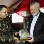 Image for the Tweet beginning: Le chef du Hamas visite