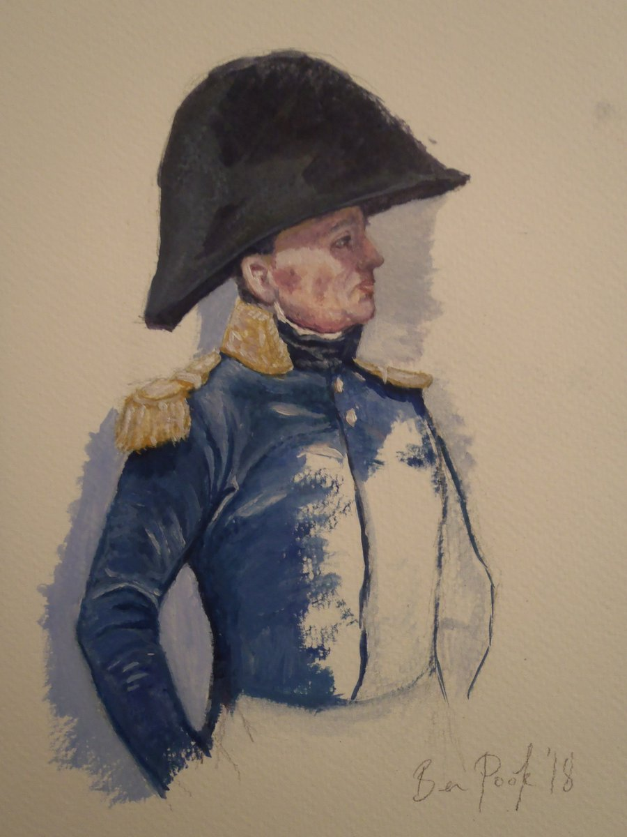 Ernest Meissonier study, Oil on paper by @BPookArt #napoleonic #traditionalart <br>http://pic.twitter.com/0wqnYAtvjF