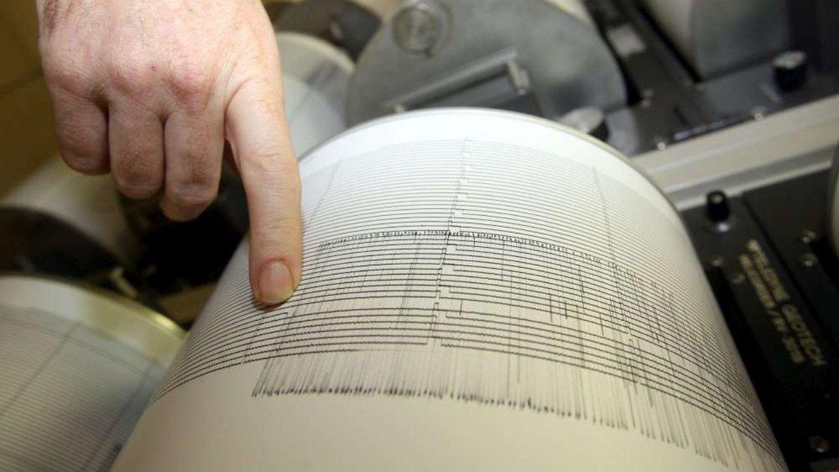 Grecia, scossa di terremoto di magnitudo 5.5 al largo della costa #grecia https://t.co/e9OzO9HCny