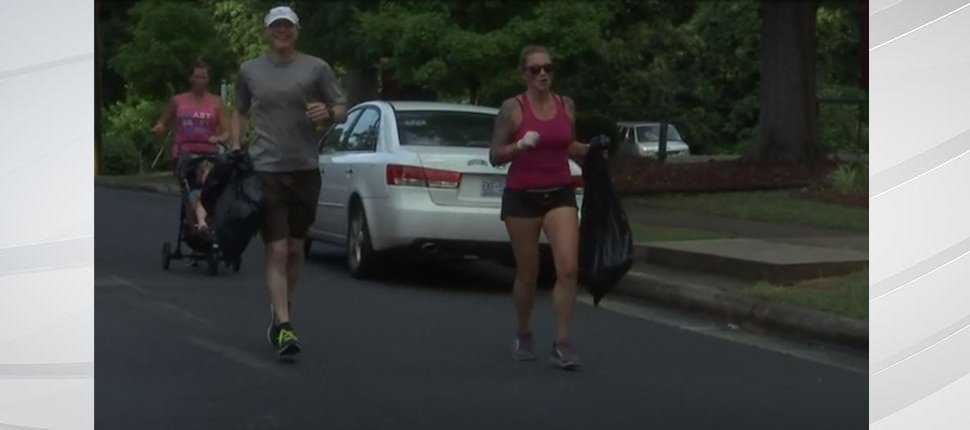 'Plogging' means to pick up trash while jogging. Originally from Sweden, it's now gaining popularity in America. https://t.co/ejyDkRhDIR