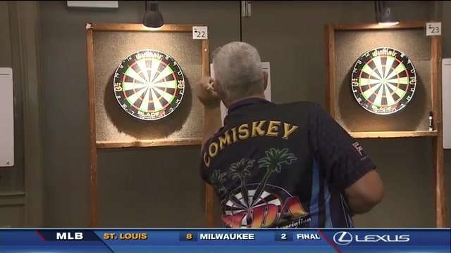 South Floridians among players squaring off at national dart tournament in Deerfield Beach; @7SportsXtra interviews competitors https://t.co/8EU0R497DN