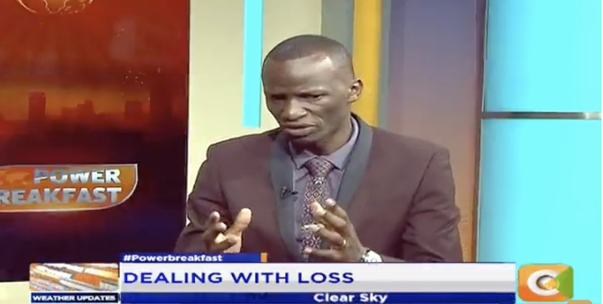 Welly Odendo: I would urge us that it is important to always ask yourself if you are left with nothing what will I have? When you feel the sense of loss, it will develop in you a sense of resilience #PowerBreakfast