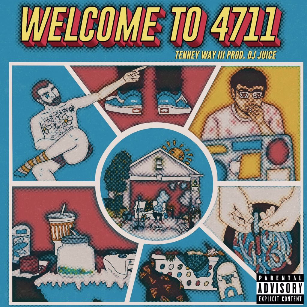 I've watched my best friends work on this project for months in our very own house and I can't wait for y'all to be Welcomed to 4711!! Expect track list next week, finished project in mid July, and to be completely blown away by every bit of it. S/o @lilbluesoph for the artwork!!<br>http://pic.twitter.com/umCVFmPuWT
