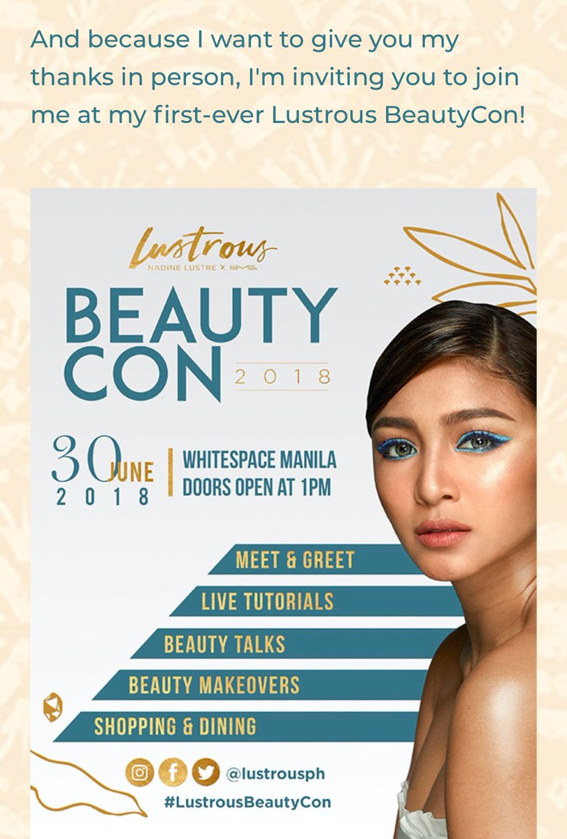 I have 2 complimentary tickets. Please send me a message  if interested. Thank you   5DaysTo LustrousBeautyCon #dafBAMA2018Nadine<br>http://pic.twitter.com/3yyMsDUB8e