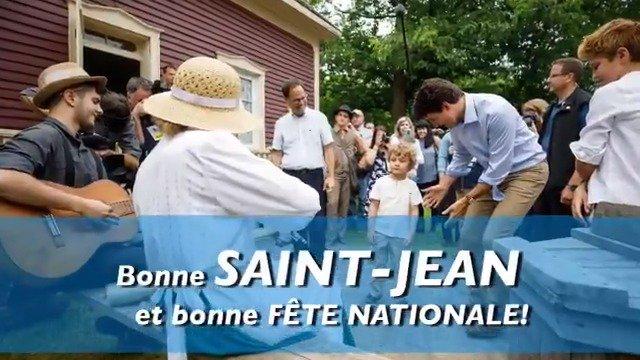 Justin Trudeau's photo on #FêteNationale