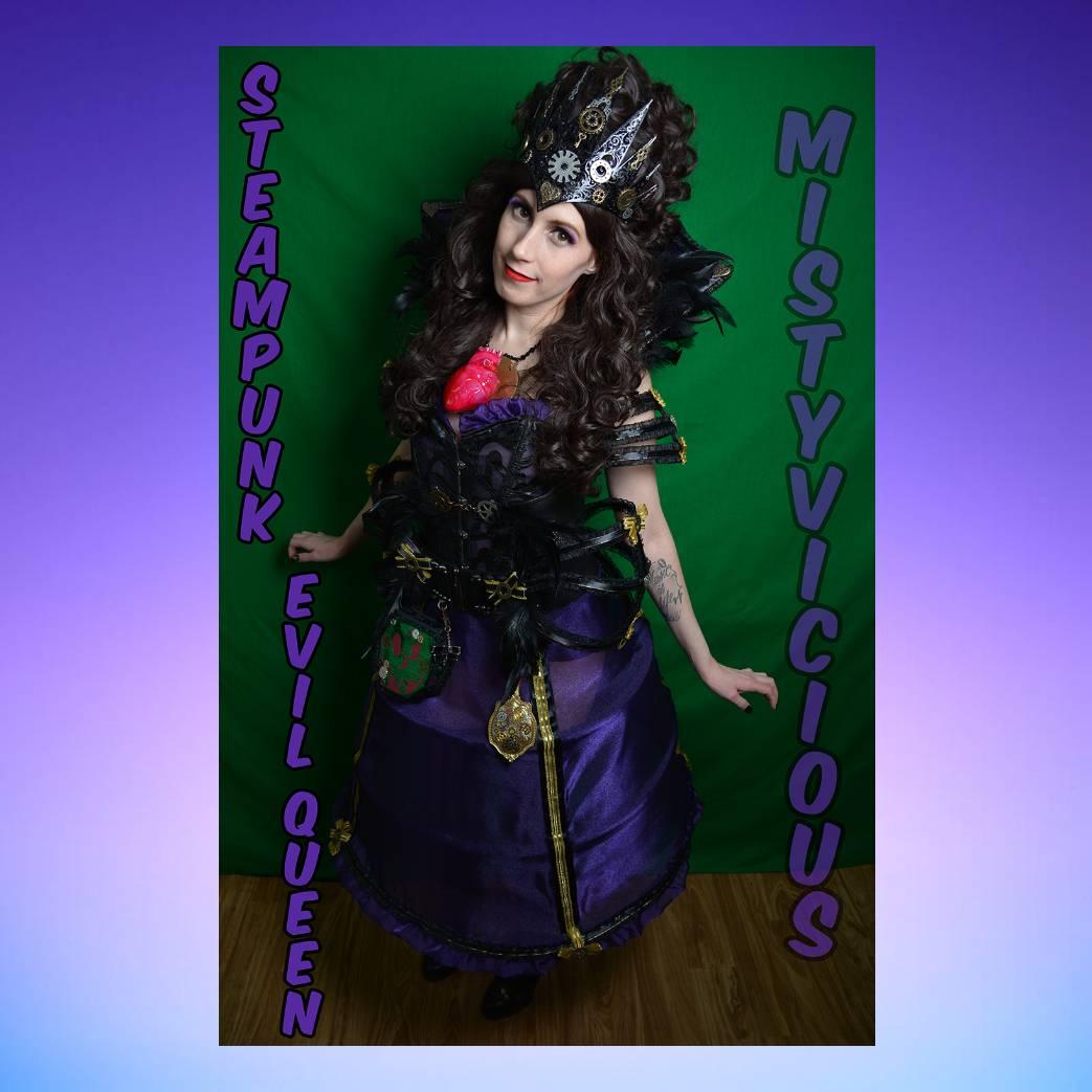 𝕄𝕚𝕤𝕥𝕪𝕍𝕚𝕔𝕚𝕠𝕦𝕤 On Twitter Steampunk Evil Queen