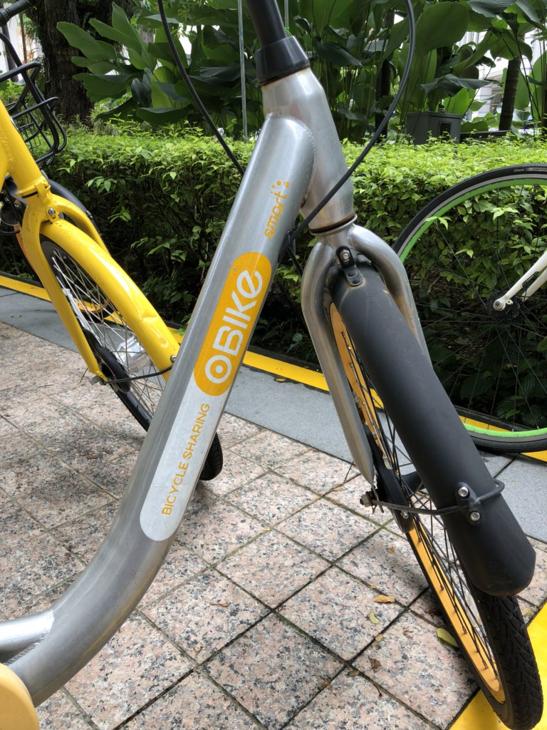 RIP oBike Singapore (2017 - 25 June 2018) https://t.co/Oeh1cFhKde