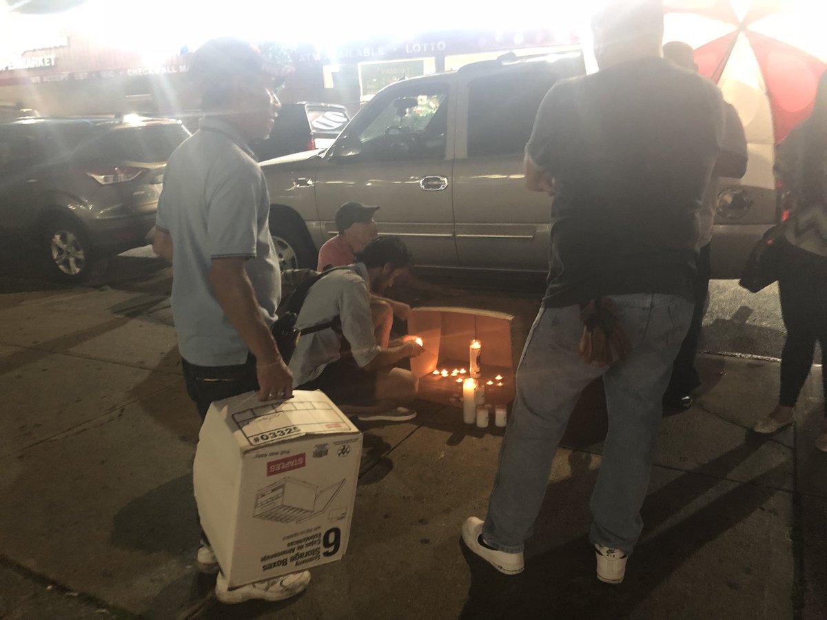 Bushwick Car Service >> Lisa Rozner On Twitter Memorial Growing On Sidewalk Where