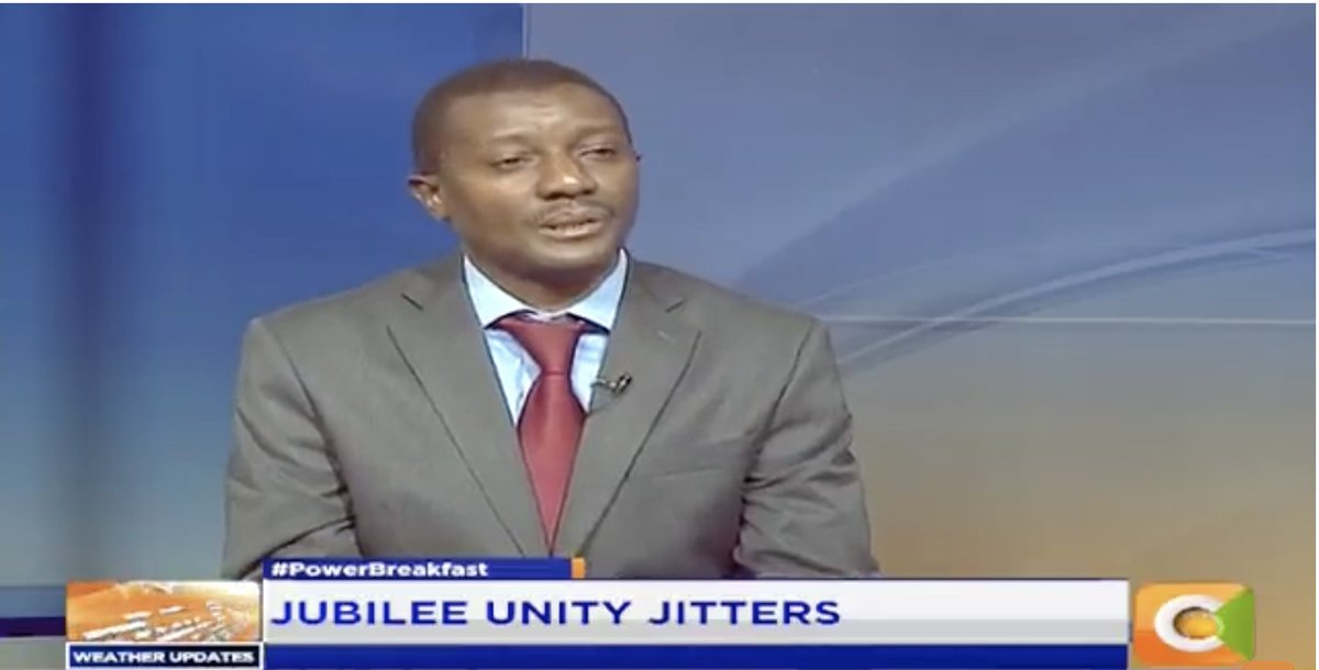 Daniel Maanzo: No single party can form a government; you have to make coalitions and no single region can produce the president by its own. We need a situation where all Kenyans feel part of it #PowerBreakfast