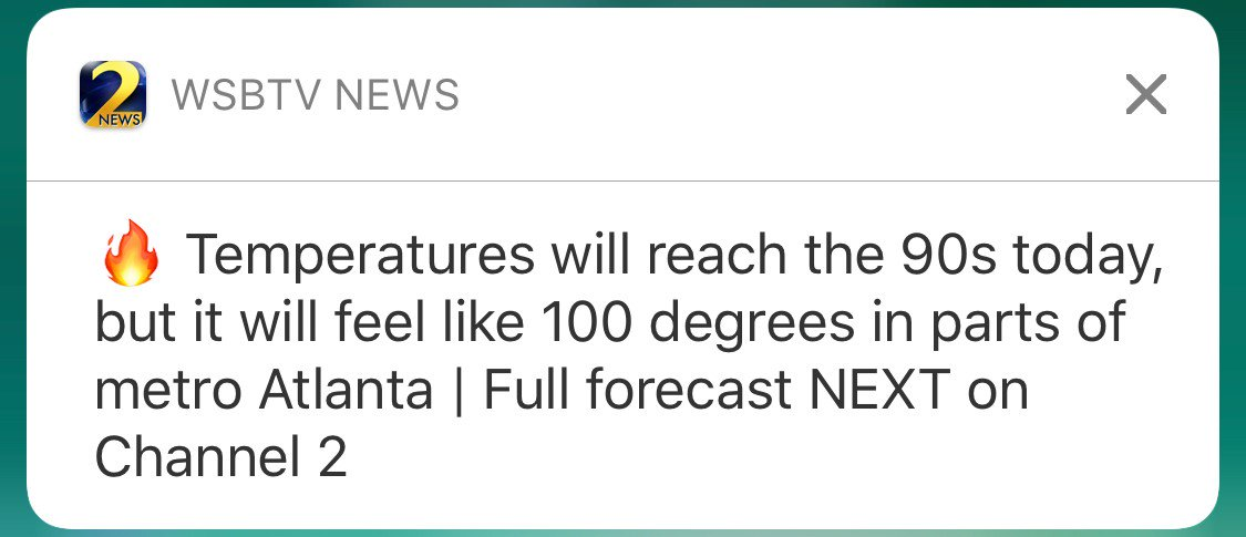 👇 don't miss out on weather, news and traffic alerts like