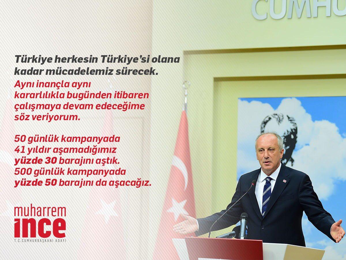 Türkiye herkesin Türkiye'si olana kadar mücadelemiz sürecek. https://t.co/sWEZIE8PRS