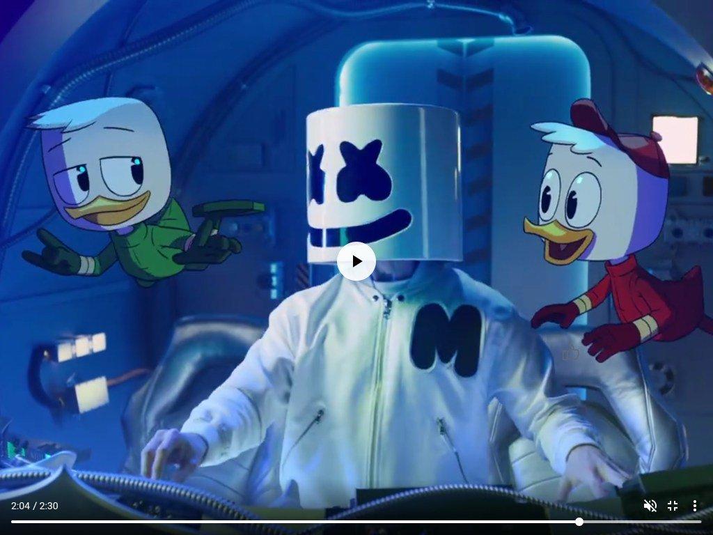 Marshmello lança parceria com a Disney em clipe com TioPatinhas https://t.co/KYOSC5FGtd https://t.co/GkZm7BAl7I
