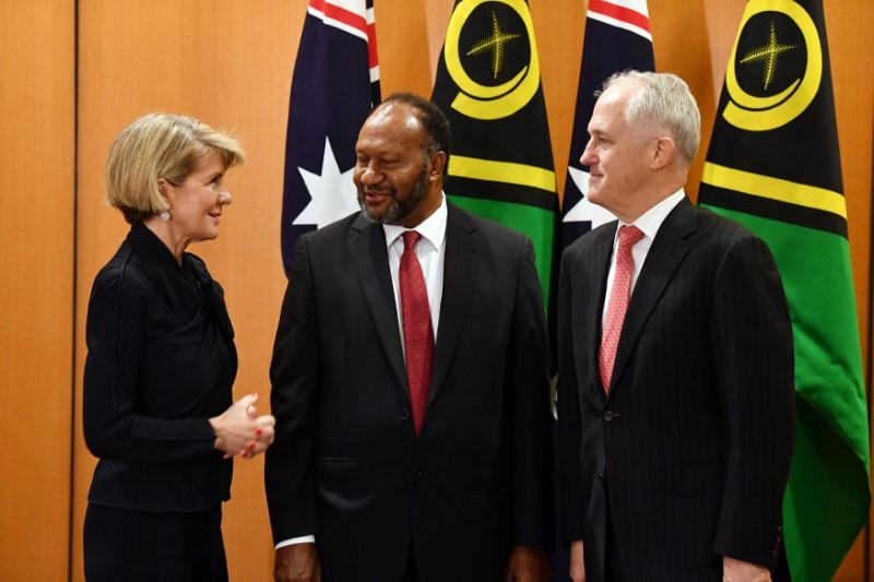 Australia works on security deal with Vanuatu in bid to counter China's influence https://t.co/nuc7gRoUyd