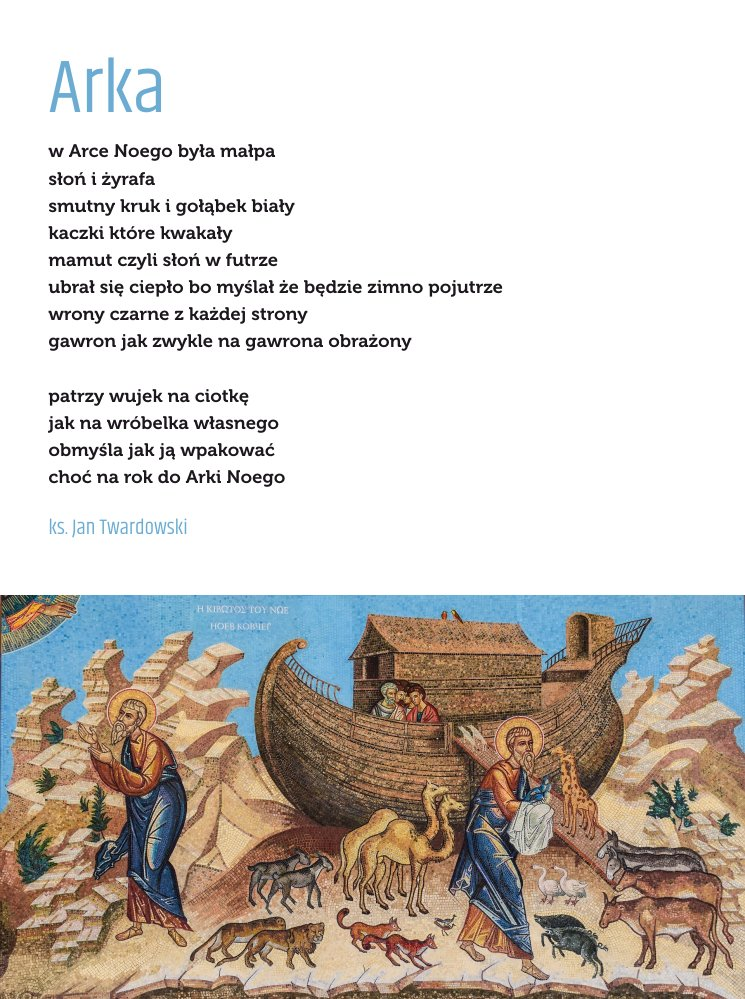 Twardowskipoezjaeu على تويتر Arka Wiersz Poezja